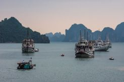 Halong Bay la asfințit