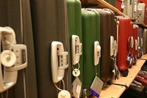 Hardside suitcase