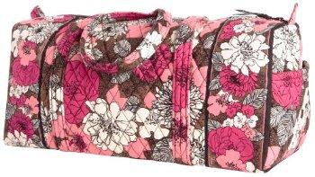 Vera Bradley Small Duffel Review - Travel Bag Quest 3e70593907eed