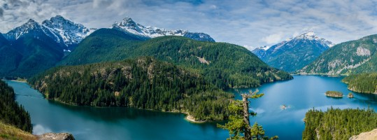 הפארק הלאומי צפון קסקייד North Cascades National Park