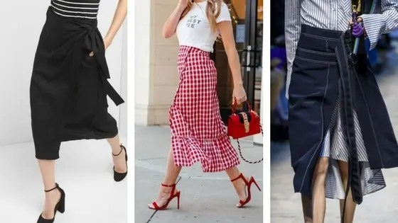 Spring Trends You Need To Know About | Spring 2018 | Spring Trends | Spring Fashion | What's wearing for spring 2018 | Fashion inspiration | Spring Outfits | Travel Beauty Blog | Asymmetrical Wrap Skirts | Wrap Skirts