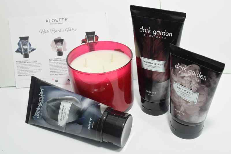 Aloette Body Care: What Do I Like About It? Dark Garden Collection | Beauty Products | Aloette | Body Lotion | Creams | Body Lotion | Body Oil | Body Wash | Body Incense | Body Bloom