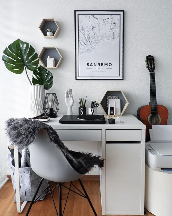 How To Create The Perfect Office On A Budget | DIY Home Office | Home Offices | Interior Decorating | Interior Decor | Decor | Offices | Dreamy Office