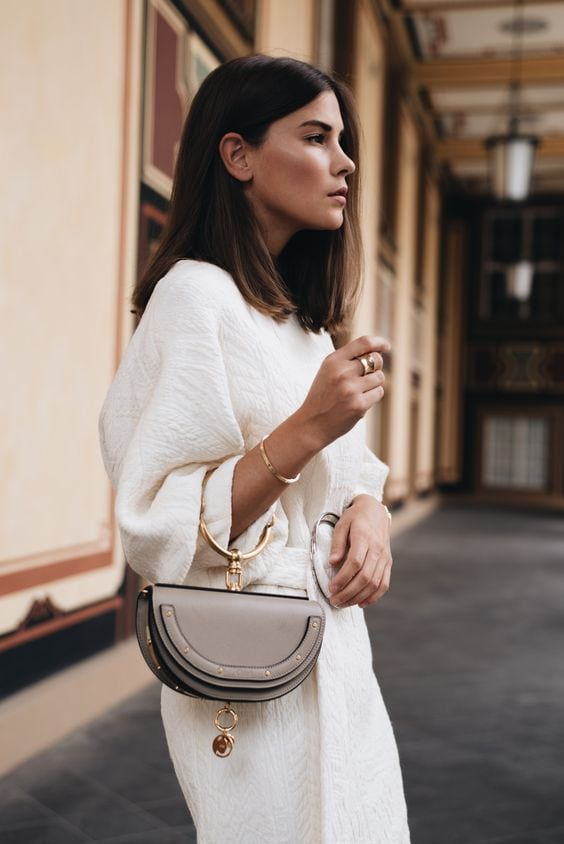 5 Chic Bags I Am Absolutely Loving Right Now | Chic Bags | Bucket Bags | Box Bags | Circle Bags | Belt Bags | Fanny Packs | Travel Beauty Blog