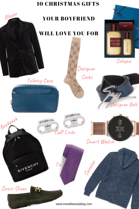 Gifts Your Boyfriend Will Love | 10 Christmas Gifts Your Boyfriend Will Love You For | Christmas Gift Ideas | Holiday Gift Ideas | Christmas Gifts for Him