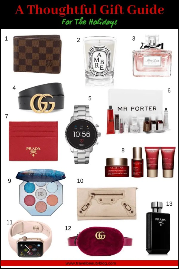 Gift Guide | A Thoughtful Gift Guide For The Holidays | Holiday Gift Guide | Christmas Gift Guide | Christmas Gifts | Gift Ideas | Travel Beauty Blog