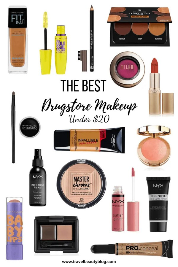 An Outline Of The Best Makeup All Under 20 Travel Beauty