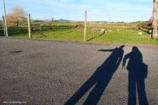 Shadowy figures with the BFF:)