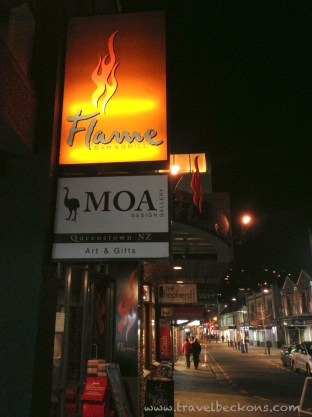 Flame - A recommended restaurant that's full-house. (http://flamegrill.co.nz/)