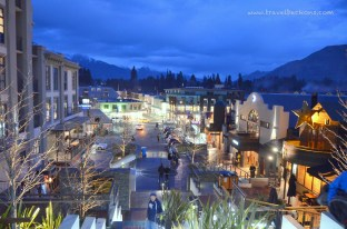 Nightview of Queenstown