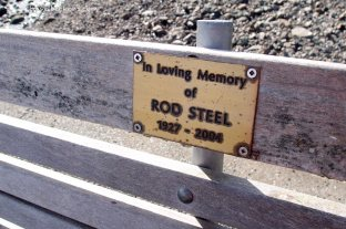 All benches in New Zealand that I have come across seem to be sponsored.