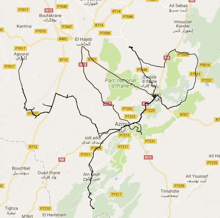 Trip part 2 - The Schools (around Ifrane and Azrou)