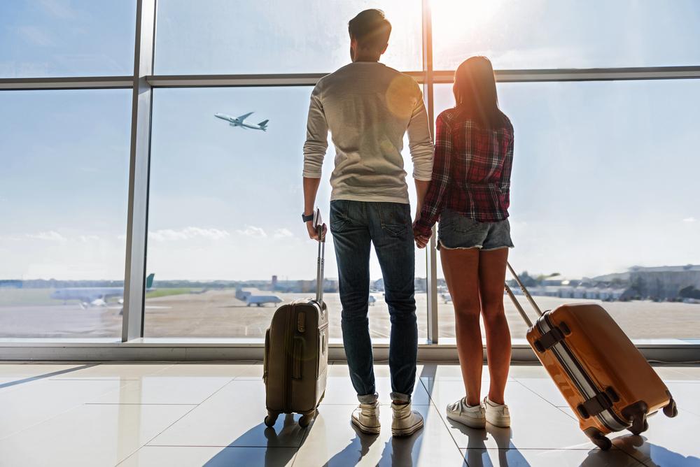 vacances voyage soleil aeroport