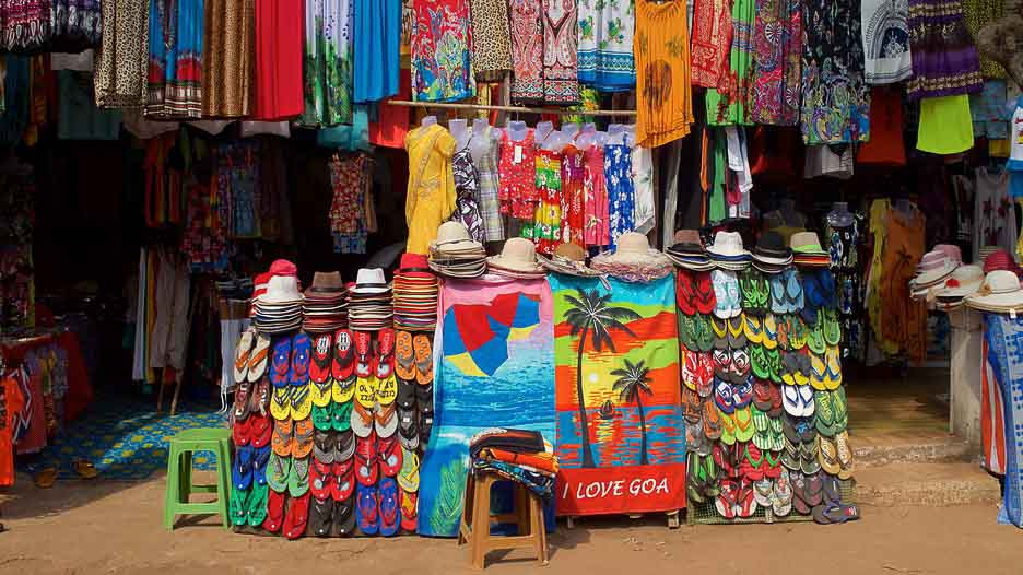 Goa beach shop