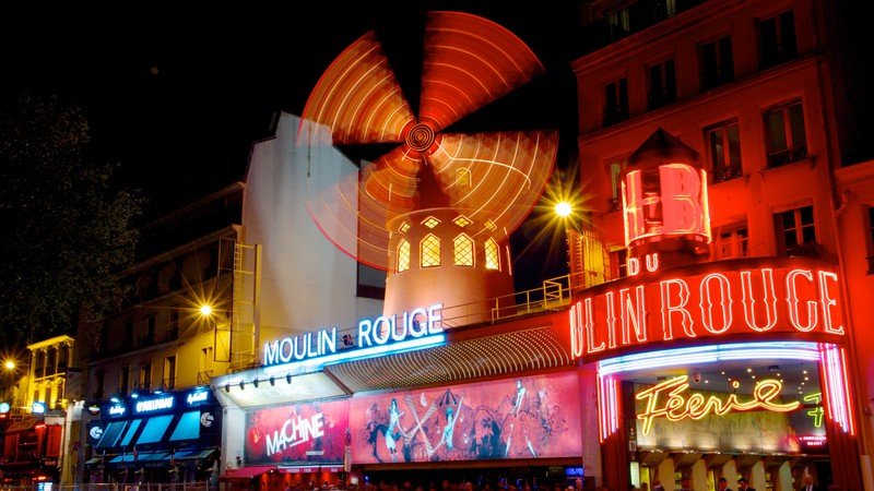 moulin rouge paris nightlife