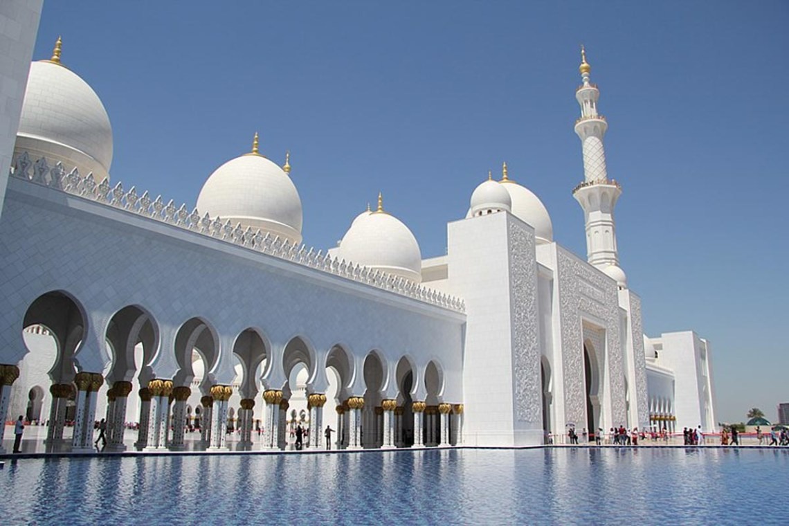 Zayed Mosque, Abu Dhabi