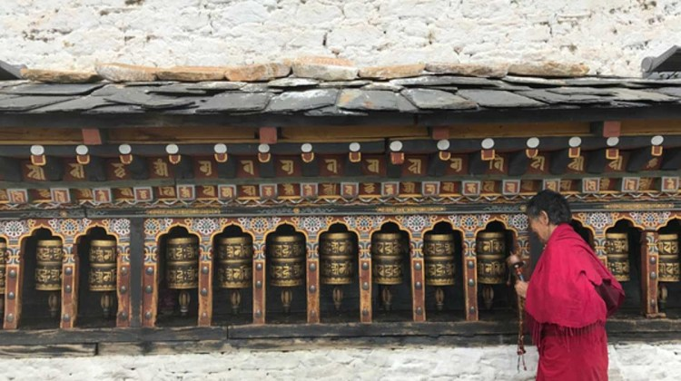 Changangkha temple at Thimphu