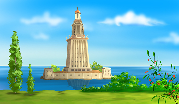 7-Lighthouse-of-Alexandria