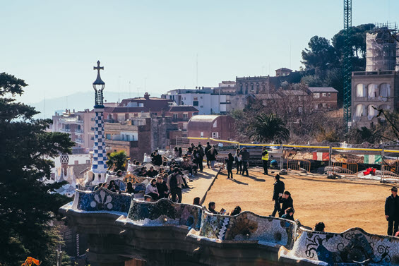 Dream Destination Spain - Day 6 - Barcelona - Park Guell 3