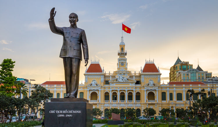 Rhythm of Journey - Ho Chi Minh City - Ho Chi Minh Statue
