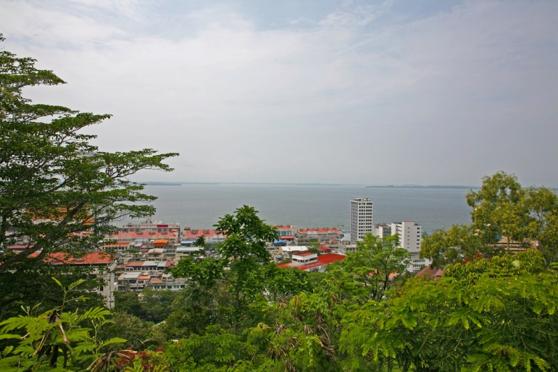 The city of Sandakan