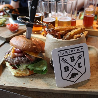 Beaver Brewing Burger