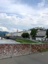 Lock Bridge with Old Town