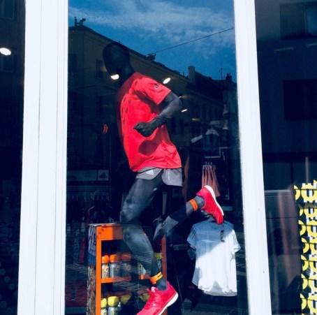 Running Store storefront