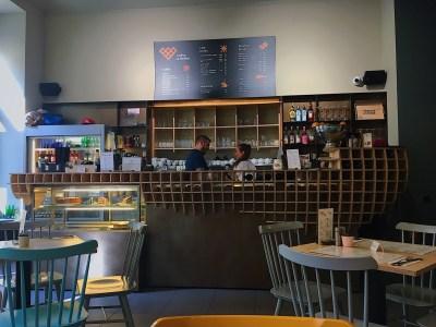 coffee & waffles bar