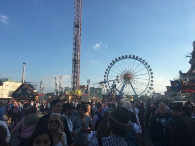 outside of festival