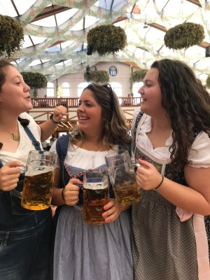 Beer and Dirndl