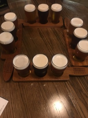 flight at Smithwick's