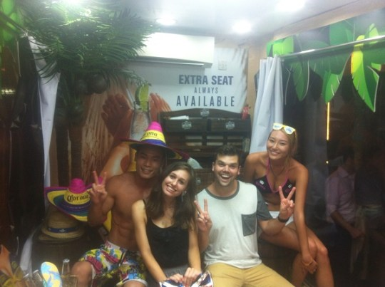 Mexican Party in Hong Kong