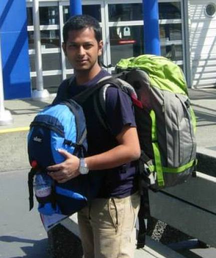 Arnab Nandy who is Travel Andy