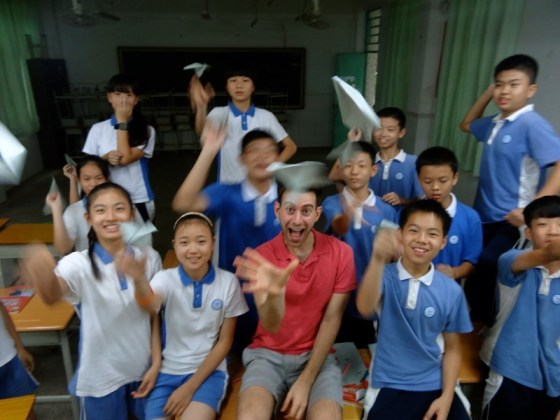 Some of my students in China