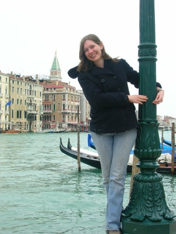 Jenn Grahams in Venice Italy
