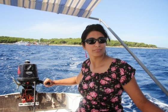 Captaining a boat in Croatia - ticking the bucket list with Sonia and Ankur