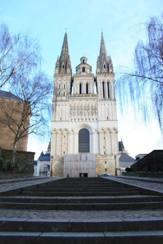 Cathedral in Angers, France