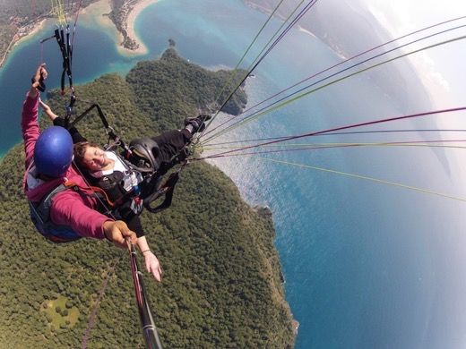 Paragliding in Oludeniz, Turkey with Jenny Smith of The Adventure Smith