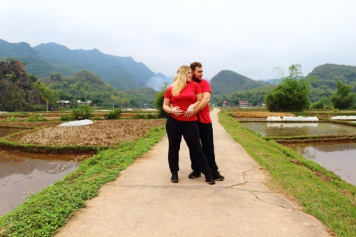Karolina and Patryk of KarolinaPatryk in Mai Chau
