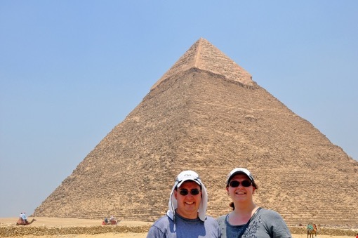 In the days immediately after the Revolution, we had many of Egypt's most famous sites almost completely to ourselves. Lance and Laura of Travel Addicts