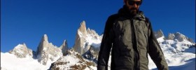 Miguel Travelsauro Hiking Fitz Roy in Argentina