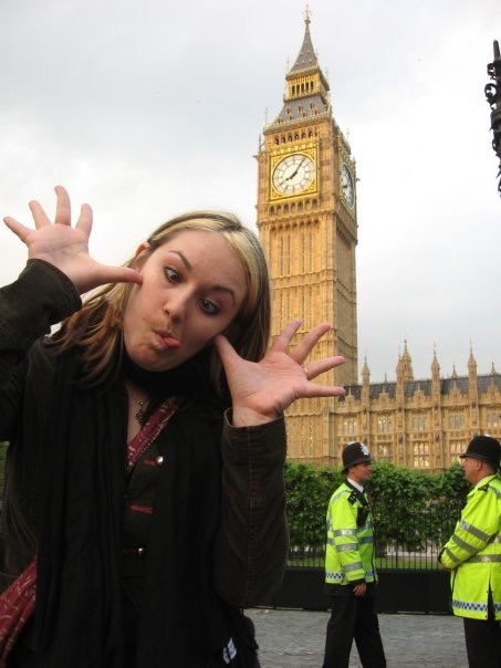 Heather Hopkins of Art Travel Eat Repeat at Big Ben