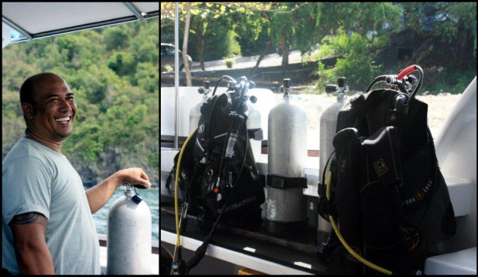 Diving in Padang Bai Bali