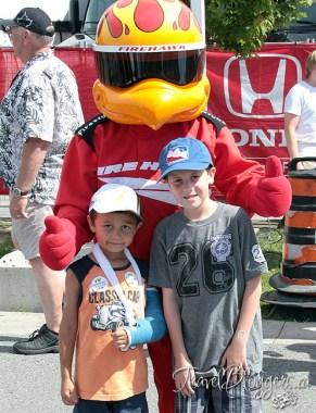TravelBloggers.ca, Honda Indy of Toronto, Indy Car, Fire Hawk