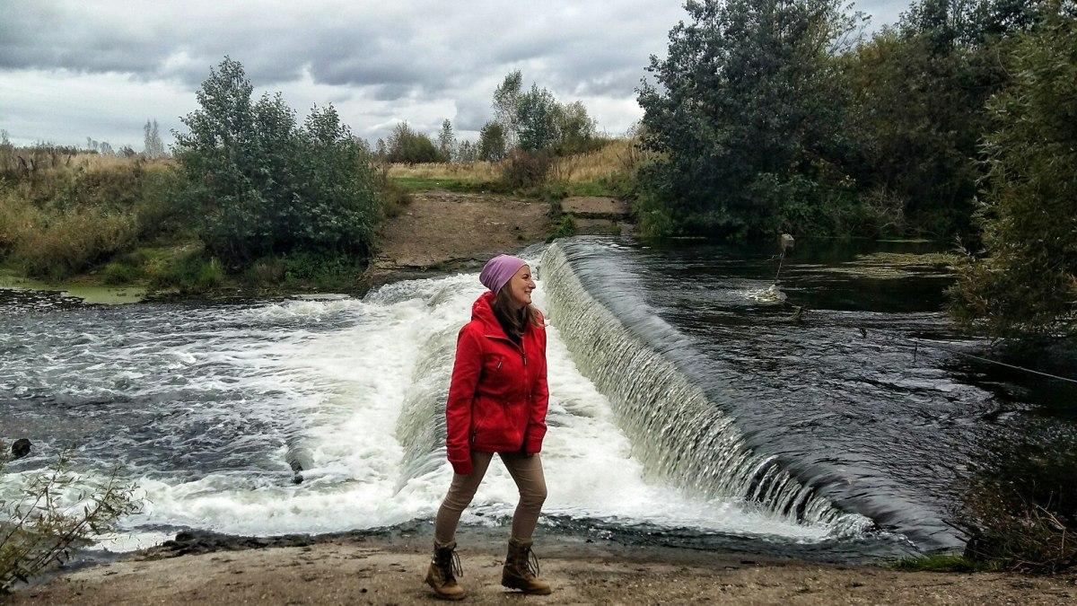 Водопад в Кстовском районе
