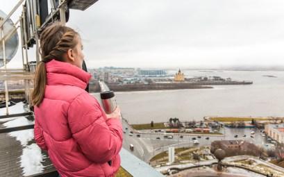 крыши Нижнего Новгорода