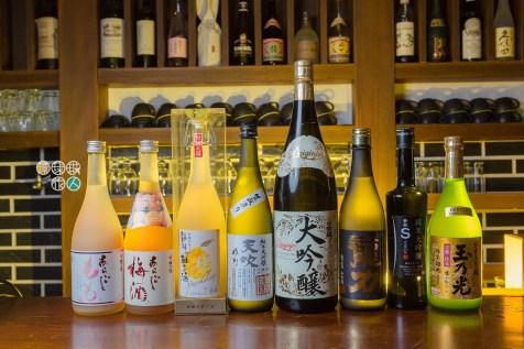 多款澳門不易找到的日本酒類