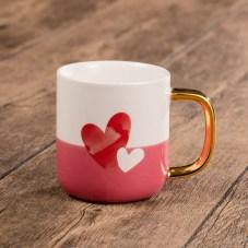 Starbucks_Heart Pattern Mug