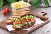 Chart Room Cafe_Gazpacho Sour Dough Sandwich